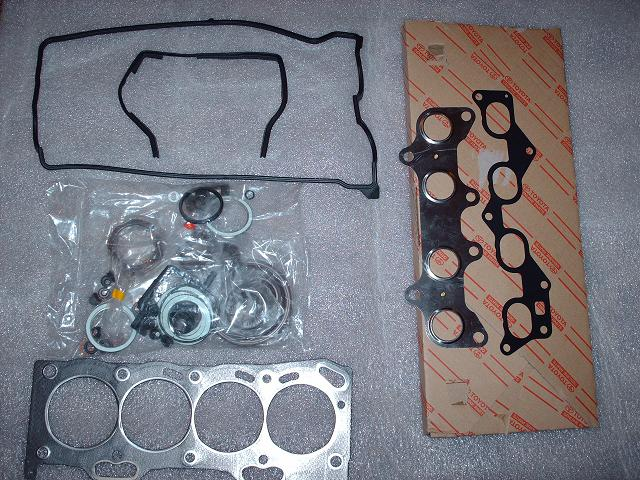 5efte Toyota Oem Engine Gasket Overhaul Kit - Click Image to Close