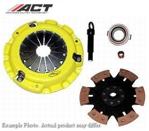 ACT Clutch Kit -Xtreme Pressure Plate with 6 Pad Solid Race Disc - Click Image to Close