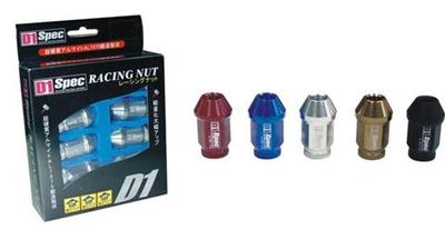 D1 Spec Racing Lug Nuts - Click Image to Close